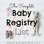 The Complete Baby Registry List