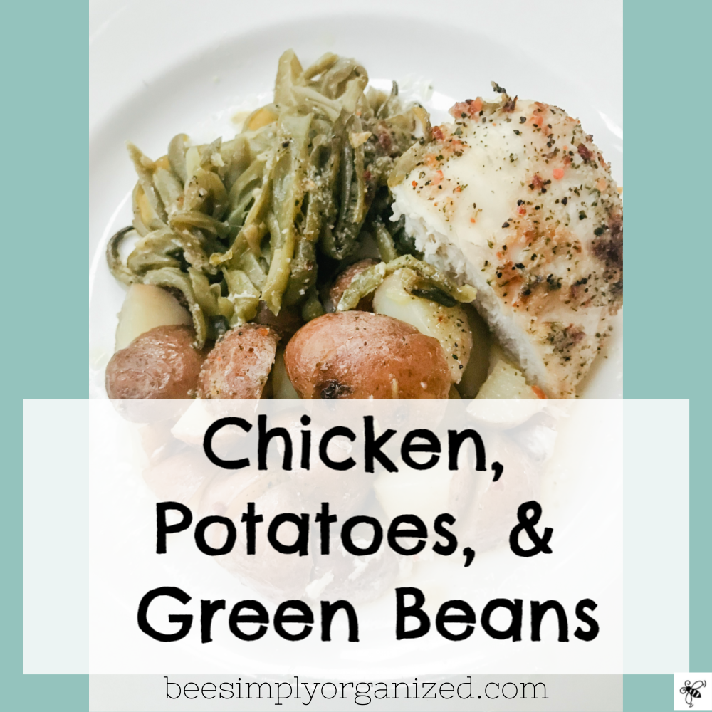 Are you looking for an easy no prep dinner? This meal is for you! It is one of the easiest meals I make. Not only is it easy it's packed with delicious comforting flavors. Go make it yourself! You won't regret it! |Bee Simply Organized| beesimplyorganized.com