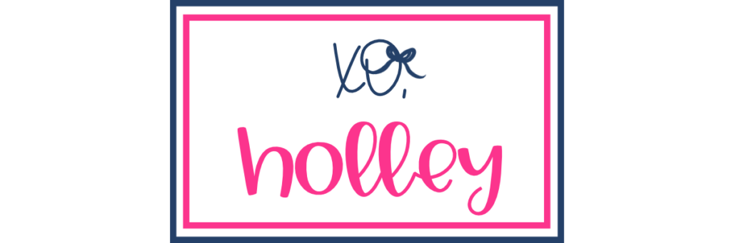 signature- xo, holley
