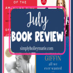 Summer Book Review July 2020 Books